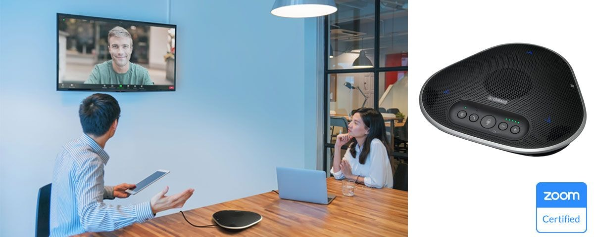 The Intelligent Speakerphone Received Zoom Certification to Deliver Frictionless Deployment and Superior Audio Experience in Today's Collaboration Spaces